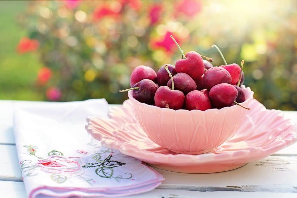 Bowl of Cherries in a Nutrition Consult