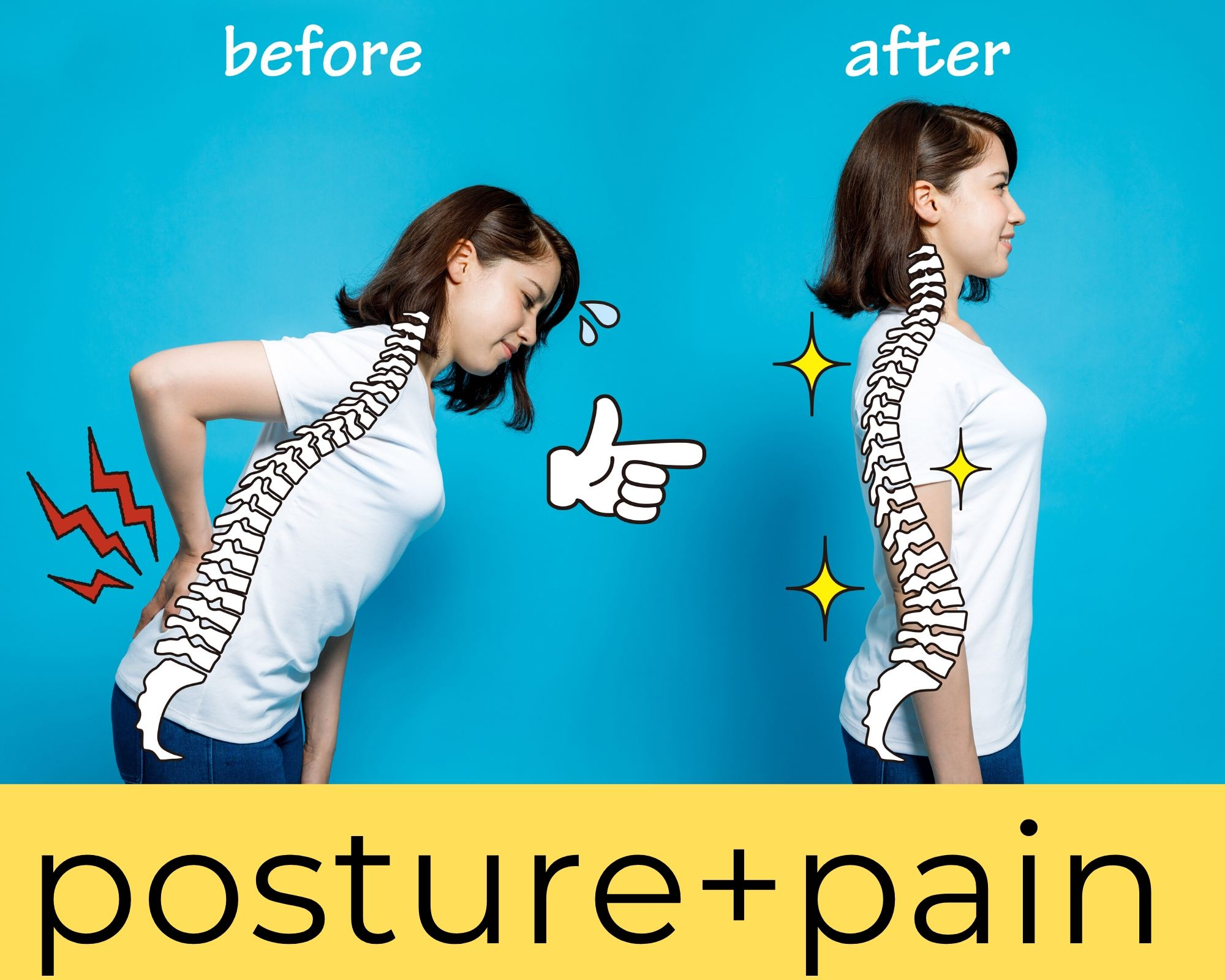 Posture and pain relief