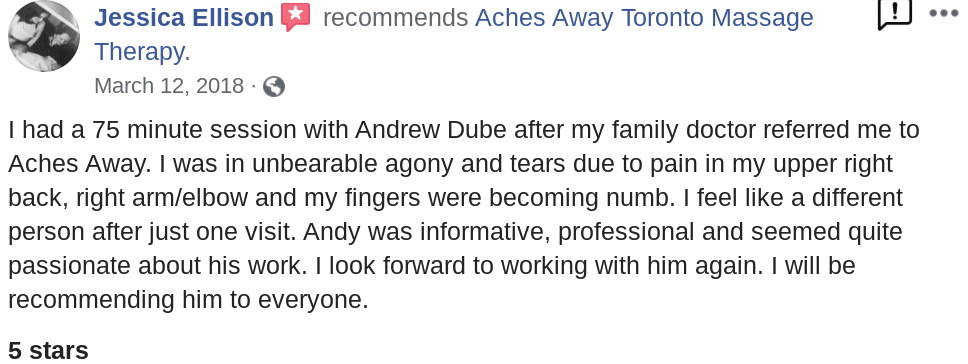 Doctors Referral Massage Review