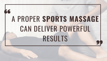 Sports Massage for Athletes and Runners